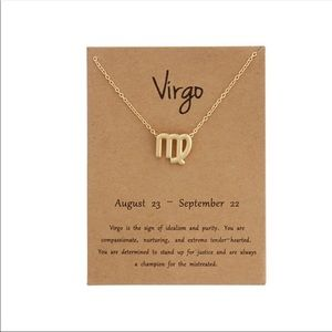 Virgo ♍️ Zodiac Sign Necklace